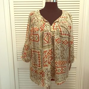 Stunning blouse by Alfred Dunner! ** BRAND NEW